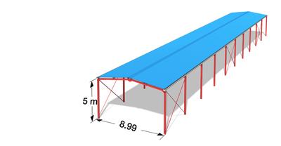 hangar agricole l mag longueur 60 mhauteur 5 m. Black Bedroom Furniture Sets. Home Design Ideas