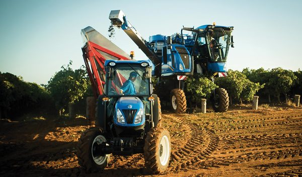 New Holland, des performances records pour ses machines à vendanger